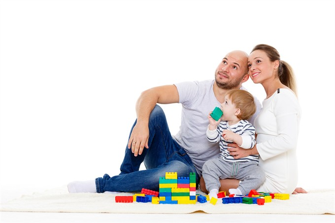 Bigstock -Happy -Family -With -Baby -Build --85477298